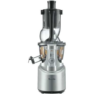 Breville - the Big Squeeze Slow Compression Juicer in Silver